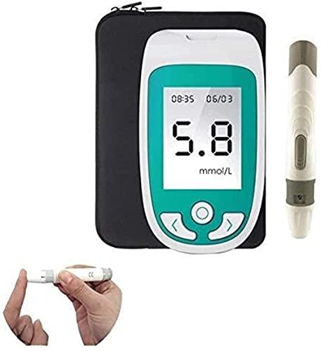 ZLLLL 3 in1 Cholesterin-Messgerät, Cholestérol Test, 3in1 Haushaltsglucometer Kit Blutzucker & Uricacid & Cholesterolmeter Diabetes Gicht Tester Monitor