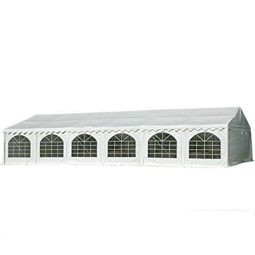 DELTA Canopies 40'x20' PVC Combi Party Tent - Heavy Duty Wedding Canopy Gazebo - with Storage Bags