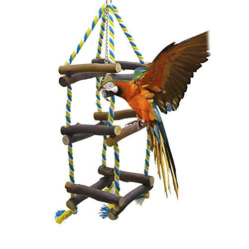 Rubyu Vogel Spielzeug, Biss Spielzeug Klettergerüst Leiter kleine und mittlere Papagei Spielzeug, Vogel Papagei Wellensittich Sittich Spielzeug