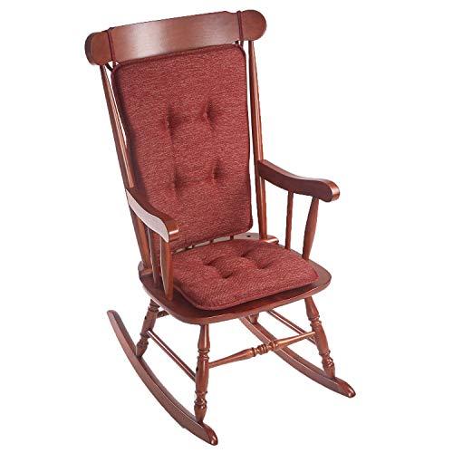 Klear Vu Rocking Chair Cushion, Red
