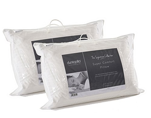 2 x Dunlopillo Super Comfort Deep Latex Pillows by Dunlopillo