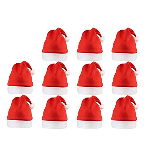 a ray of sunshine Cappello Babbo Natale Peluche,Cappellini Natale Adulti,Cappelli da Babbo Natale per Bambini,Cappellino di Natale,Cappello Babbo Natale, Cappello di Natale per Adulti