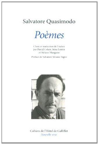Salvatore Quasimodo, Poèmes. Nouvelle série