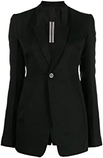RICK OWENS Luxury Fashion Womens RP19F5742WTCC09 Black Blazer | Fall Winter 19
