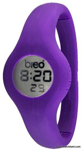 Breo B-TI-SPN2L - Reloj Unisex, Correa de Goma Color púrpura