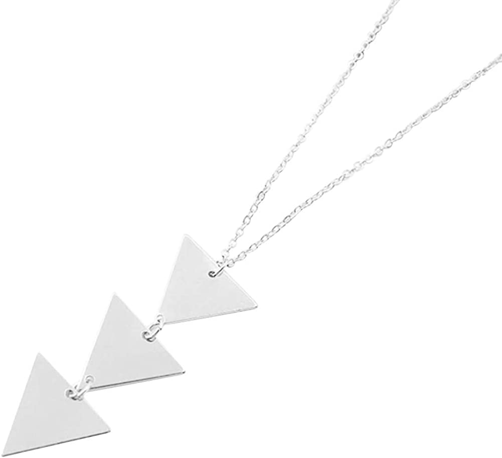 Long Necklace All-Match Y Layer Simple Bar Pendant Necklace Sweater Chain Jewelry