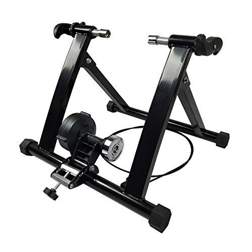 Fahrrad-Turbotrainer, zusammenklappbare Magnet-Trainer für Indoor-Bikes, Variabler Widerstand mit linearer Steuerung, Verwenden Sie Ihr Fahrrad als Heimtrainer