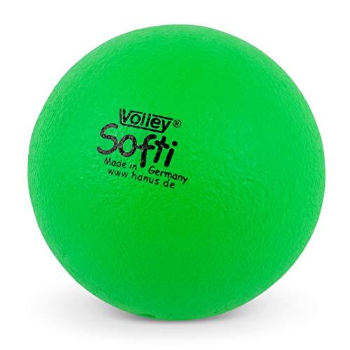 Volley ® SOFTI Pelota de Espuma - 160 mm - Verde