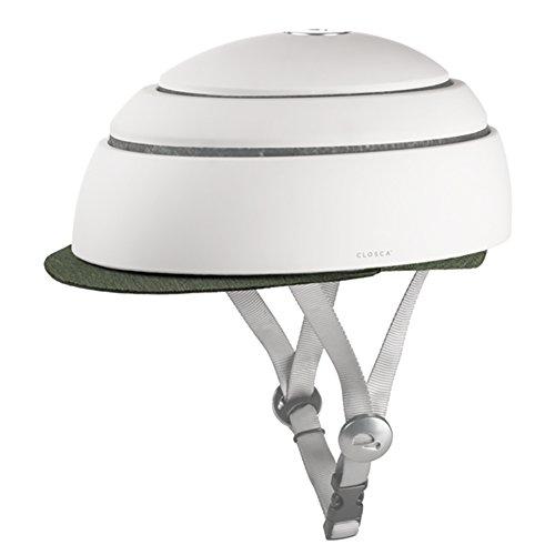 CLOSCA Helmet Visor Kale Fahrradhelm Erwachsene, Unisex, Grün, L 24,5 cm x B 19,9 cm x H 4 cm