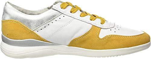 Jana Softline Damen 8-8-23751-24 Sneaker, Gelb (Saffron 627), 42 EU