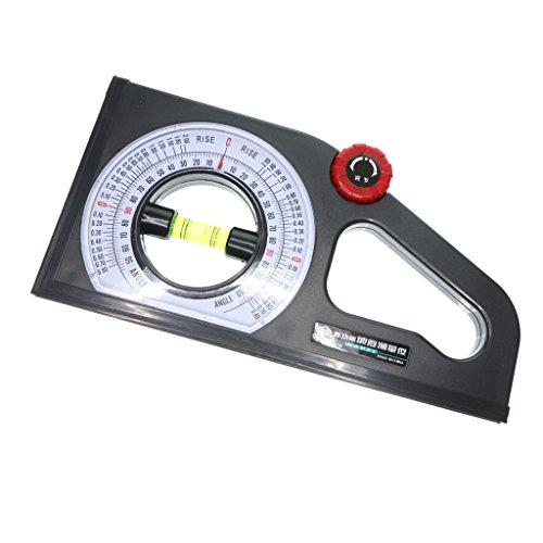 Neigungsmesser Winkelmesser Wasserwaage mit Große Blistermessung, ideal für Horizontal- oder Vertikalmessungen