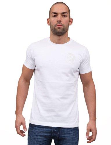 Diesel - Camiseta - para hombre blanco blanco Medium