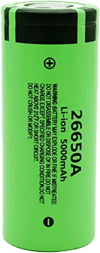 1 Uds 3,7 v 26650 5000 Mah batería Recargable de Iones de Litio para Linterna LED Luces LED Control Remoto de cámara de Juguete