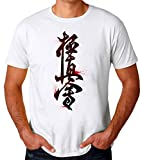 ABDesign Kyokushin Karate Sign Camiseta para Hombres X-Large