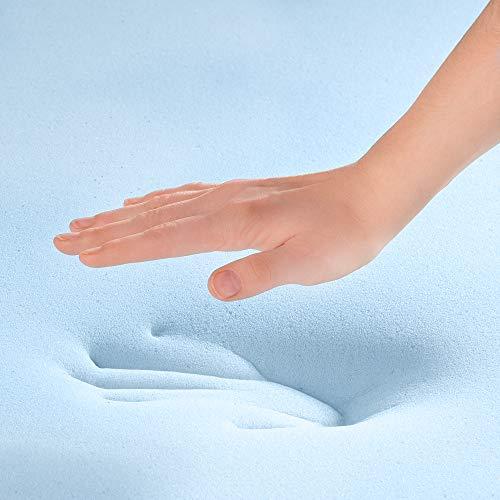 LINENSPA 3 Inch Gel Infused Memory Foam King Mattress Topper