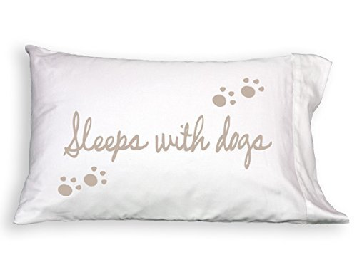 Pup Life Sleeps with Dogs Single Pillowcase