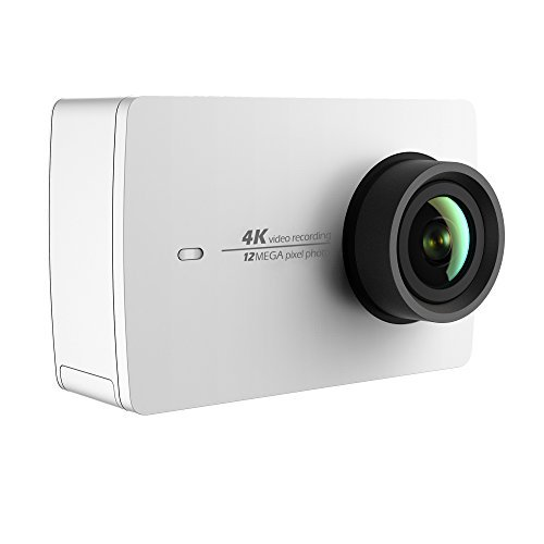 YI 4K Sports and Action Video Camera (White Pearl)