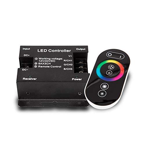 Mextronic LED-RGB-Controller (Funk) Inkl. Touch-Fernbedienung [Energieeffizienzklasse A+]
