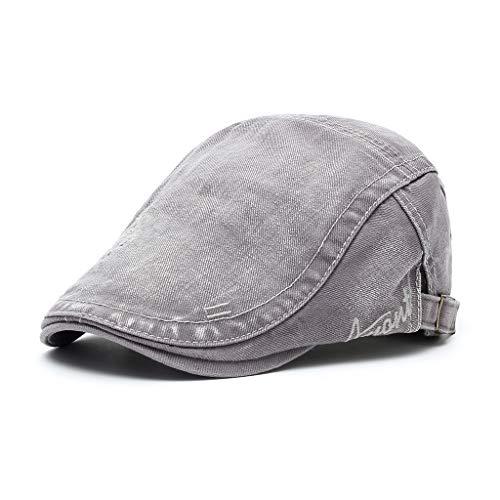Sombrero para el Sol Viejo Lavado Moda Masculina Gorra de...