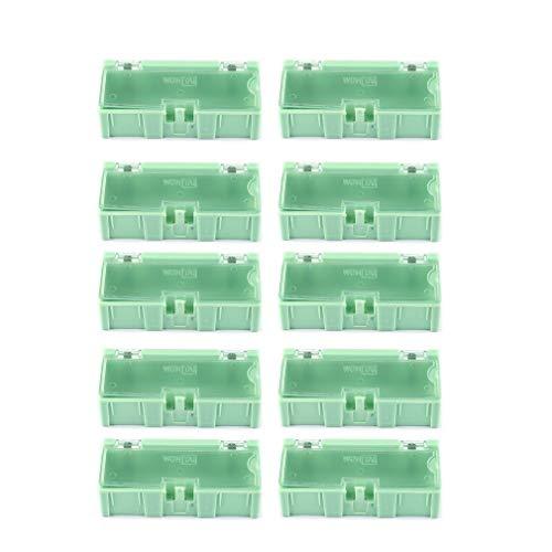 10st Kleine Object Schroef Elektronische Component Opbergdoos Lab Case SMT SMD Groen 10st