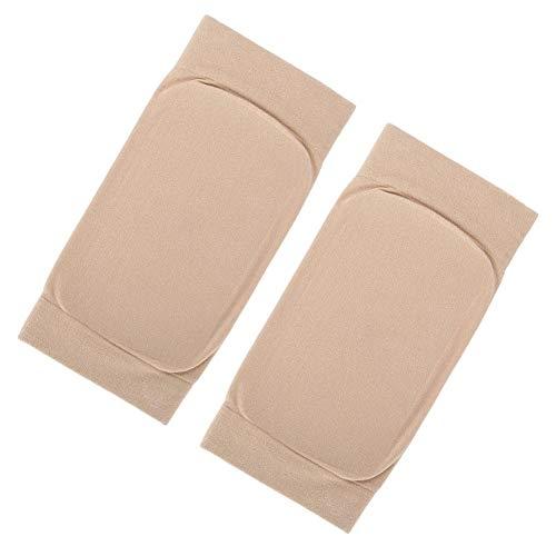 Uxsiya Silikon 1 par hälspricka strumpa fotskydd andas för ankelskydd (fyrkantig silikon)