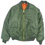(ロスコ) ROTHCO/MA-1 Flight Jacket【XXS-XL】フライト ジャケット コート (L, オリーブ) [並行輸入品]