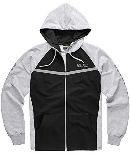 Rock Creek Herren Sportanzug Trainingsanzug Fitness Anzug Hoodie Hose [H-142 Grau XXL]