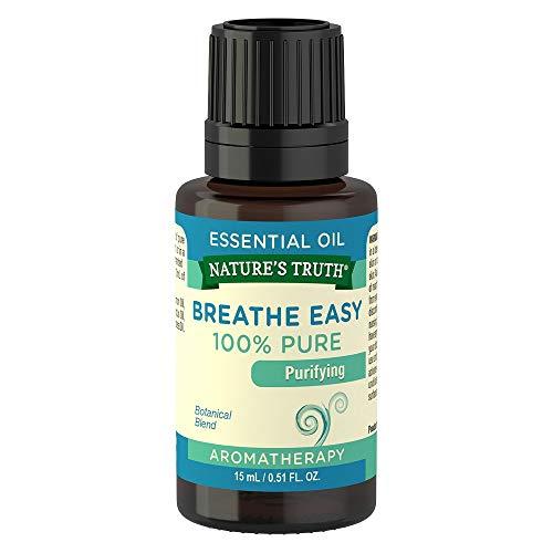 Aceite esencial Truth de la naturaleza, respirar fácilmente, 0,51 ml de líquido (6 unidades)
