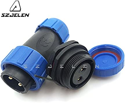 3Pin SZJELEN SP21 2Pin-12Pin Panel Mount Waterproof Connector IP67,Aviation Plug and Socket,Industrial Electrial Power Connector