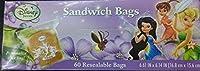 DISNEY ディズニー FAIRIES フェアリーズ SANDWICHI BAGS サンドウィッチ バッグ 60袋入り