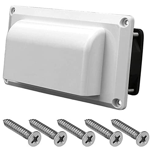 Deflector de aire acondicionado Accesorios para automóvil Ventilador de escape Ventilación lateral para caravana Ventilación de aire 12V 25W para caravana Remolque Autocaravana Barco Yate marino