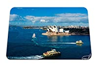26cmx21cm マウスパッド (シドニーオペラハウスシアターハーバーシップシドニーオーストラリア) パターンカスタムの マウスパッド
