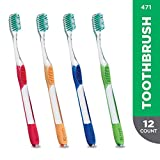 GUM Micro Tip Toothbrush, Compact Soft Bristles, Item 471 Professional Samples,...