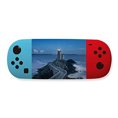 Estojo de óculos para armazenamento de imagens Ocean Dark Tower Creative Game Shell