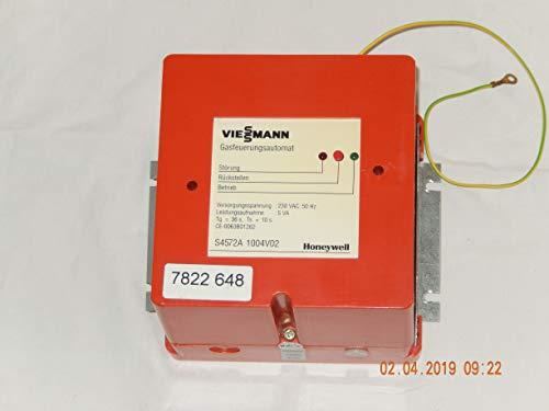 VIESSMANN 7822 648, Typ: S4572A 1004V02Gasfeuerungsautomat von Rexola biferral-RN,geprüft