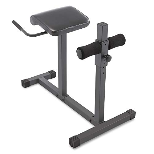 2. Marcy Hyperextension Bench