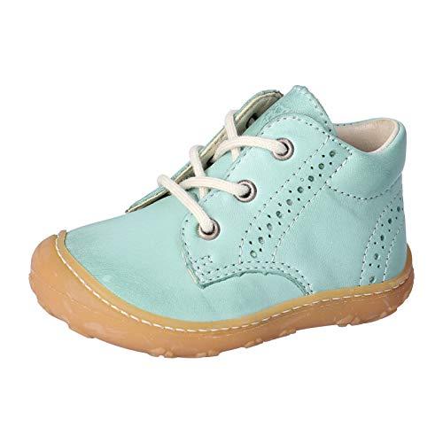 RICOSTA Kinder Boots Kelly von Pepino, Weite: Mittel (WMS),lose Einlage,schnürschuhe,schnürstiefelchen,flexibel,Jade (523),24 EU / 7 Child UK