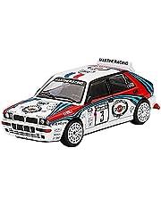 MINI GT 1/64 ランチア デルタ HF インテグラーレ エボルツィオーネ 1000湖ラリー 1992 優勝車 #3 (左ハンドル) 完成品
