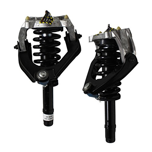 Front - Both (2) Front Left & Right Side Complete Strut & Spring Assembly with Control Arm Replacement for Breeze Sebring Stratus Convertible/Sedan Only