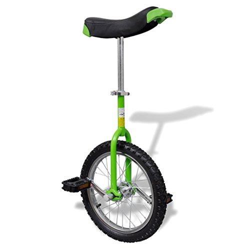 Anself Einrad 16 Zoll 40,7 cm Grün