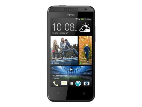 HTC Desire 300 Smartphone (10,9 cm (4,3 Zoll) Touchscreen, Dual-Core, 1GHz, 5 Megapixel Kamera, 512MB RAM, 4GB interner Speicher, Micro-SIM, Android) schwarz
