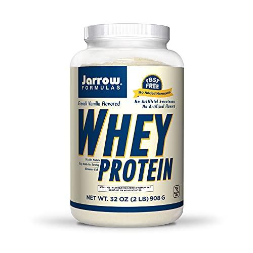 Jarrow Formulas Whey Protein, French Vanilla - 908g Powder - Supports...