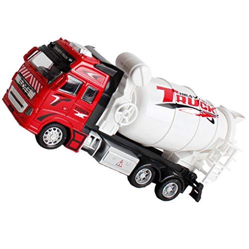 1:18 Trek legering ABS Mixer vrachtwagen speelgoed, ABS vrachtwagen Truck speelgoed Bouw voertuig Model jongens verjaardag vakantie cadeau