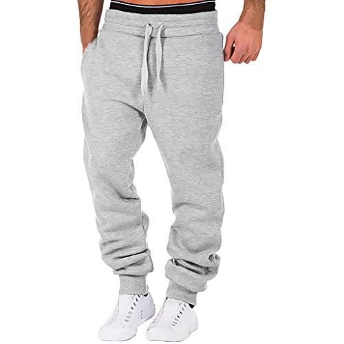 Covermason Pantalon Hommes Élégant Rugby avec Taille Élastique Et Cordon Taille Jogging Pants Sport Longue Slim Fit (XL, Camouflage)