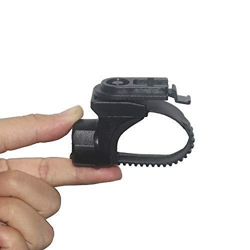 Funsport - Soporte de luz USB para bicicleta BF03