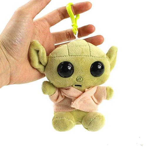arbitra Baby Yoda Keychain, Keychain Baby Yoda Plush Toy Bag Colgante Doll, Mochila Decoración, Toy Doll (Verde, 11cm)