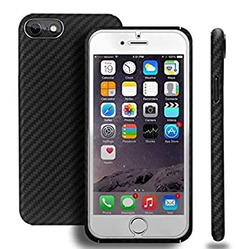 Iphone 8 Case Aramid Fiber 100% Minimalist Bulletproof Iphone 8 Case Made of Kelvar Fiber Armor Material Ultra Slim Lightweight Case Snap-on Case for iPhone 8 with Omnidirectional Protection