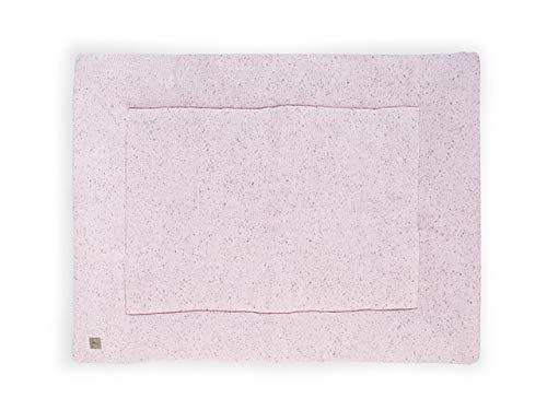 Jollein Confetti Laufgitter, gestrickt, 80 x 100 cm, Vintage Pink