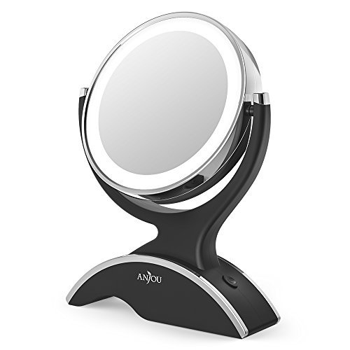 Makeup Mirror LED Lighted with 1X/7X Magnification