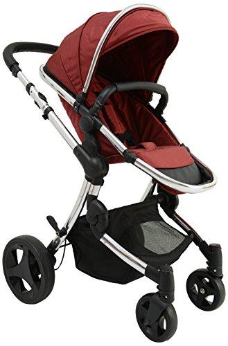 Baby Monsters Premium - Silla de paseo, color burdeos